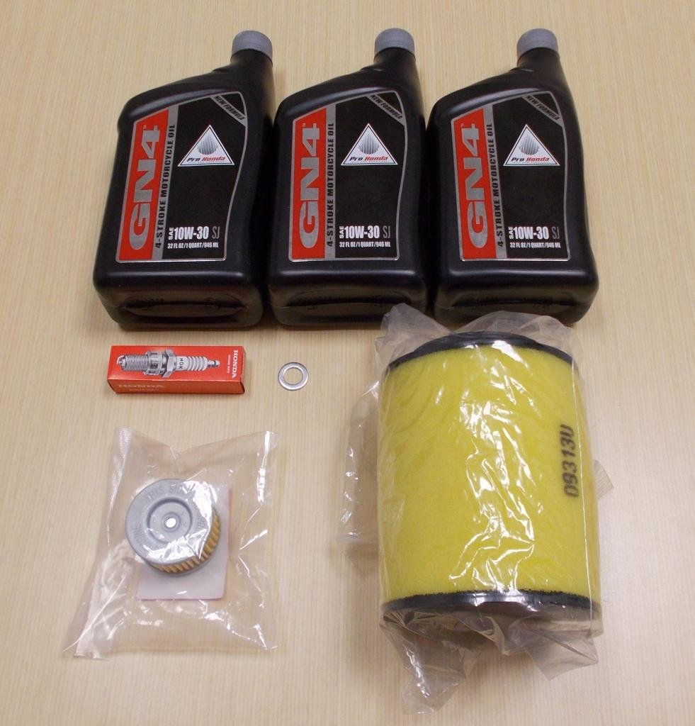 New 2007-2013 Honda TRX 420 TRX420 Rancher OE Complete Oil Service Tune-Up Kit - Walmart.com