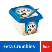 President All Natural Feta Crumbled Cheese, 6 oz