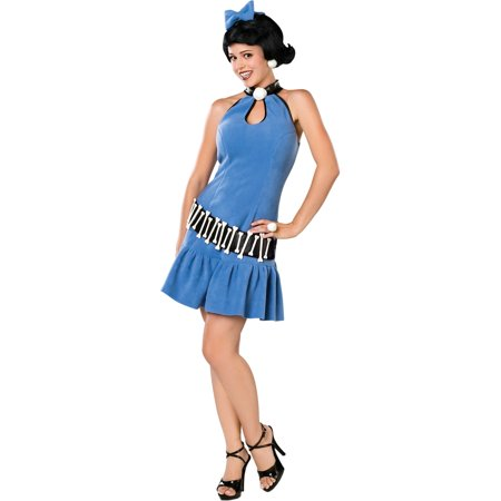 Betty Rubble Movie Costume Theatre Costumes The Flintstones Cartoon Character - Wilma Flintstone And Betty Rubble Halloween Costumes