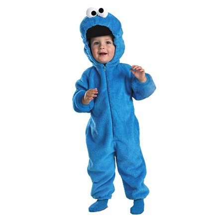 Cookie Monster Deluxe Costume - Baby 12-18 for $<!---->