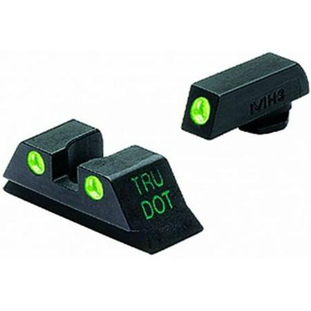 Glock 45 Gap (Meprolight Glock 9 mm/357 Sig/40 SW/45 GAP Green Rear Sight)