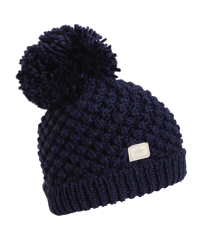Turtle Fur Pop Up Women's Hand Knit Fleece Lined Pom Winter Hat by Turtle Fur