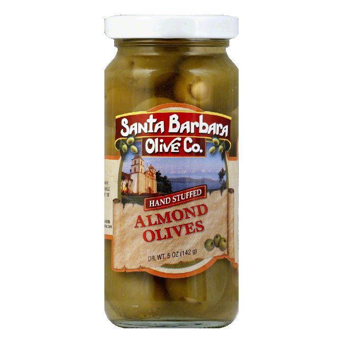 Santa Barbara Olives Stuffed Almond, 5 OZ (Pack of 6)