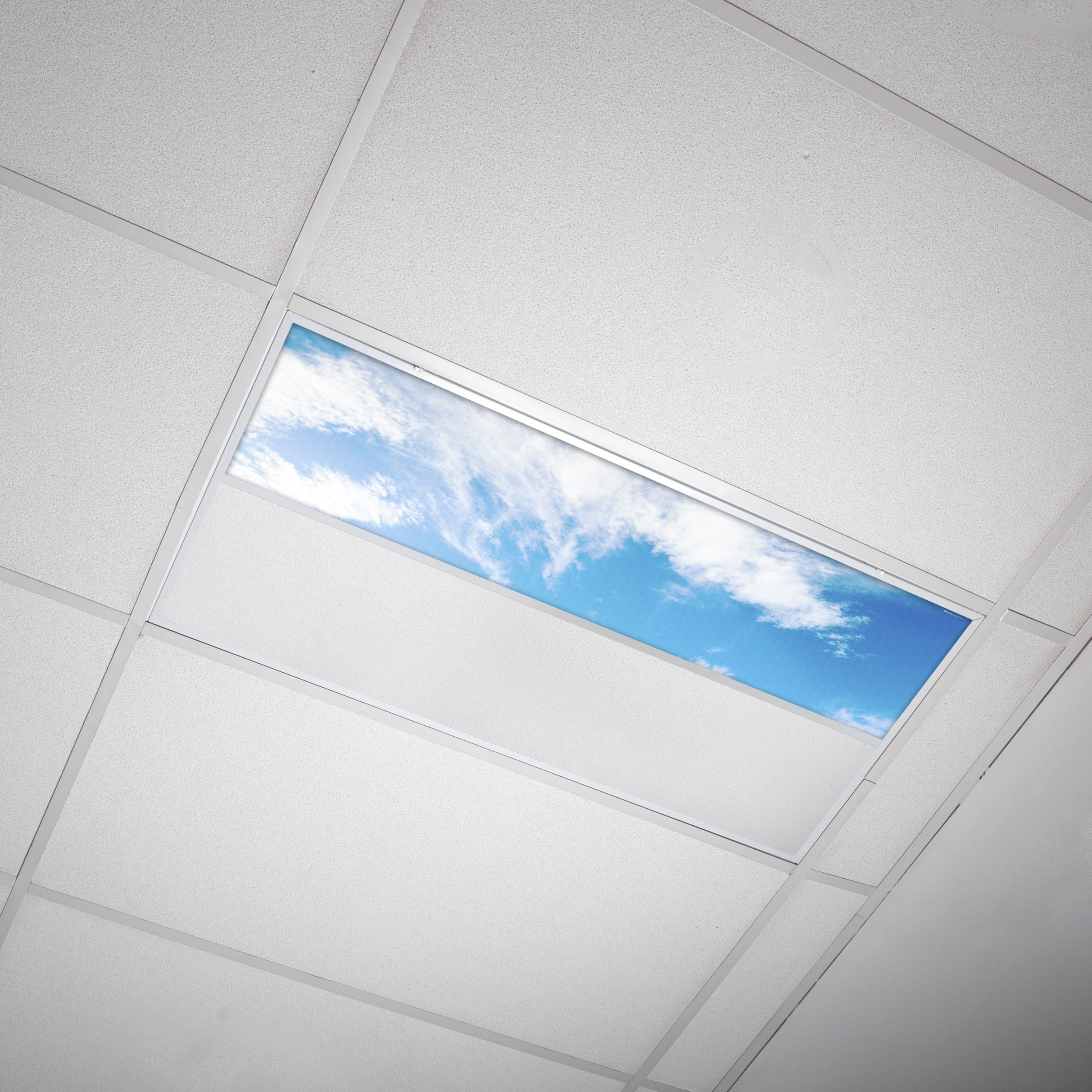 Octo Lights Fluorescent Light Covers 1x4 Flexible Ceiling Light Diffuser Panels Decorative Clouds For Classrooms And Offices 004 Walmart Com Walmart Com