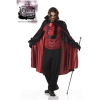 Mayhem Mansion Count Bloodthirst Vampire Costume Adult