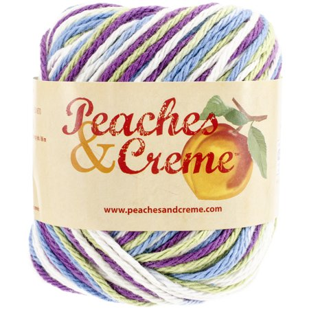 Peaches & Cream Ombre Cotton Yarn - Fruit Punch - Walmart com