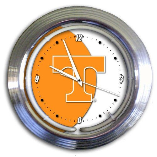 Sports Fan Products DO NOT SET LIVE! University of Tennessee 14'' Neon Clock