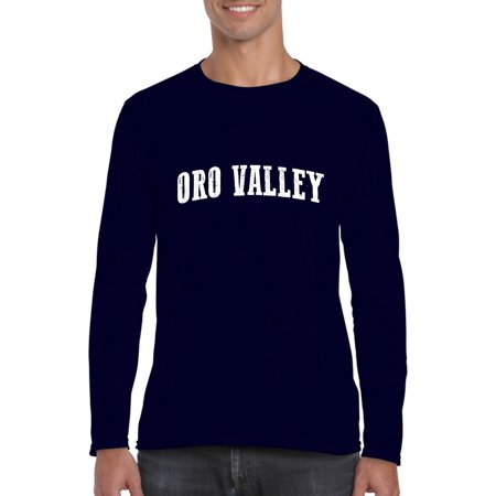 b5b4934174 Artix - Oro Valley Arizona T-Shirt Home of Arizona State University and ASU  Sun Devils Artix Mens Long Sleeve Shirts - Walmart.com