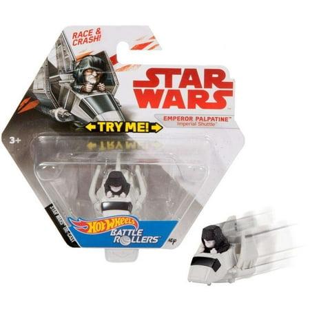 Metal Shuttles (Hot Wheels Star Wars Emperor Palpatine Imperial Shuttle Battle Roller)