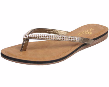 Nomad Gypsy III Sandal Gold by Nomad