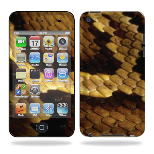 Skin Decal Wrap for iPod Touch 4G 4th Generation – Python