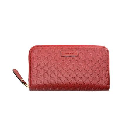 edd172017a4e Gucci - Gucci Women's Micro Guccissima Zip-around Wallet - Walmart.com