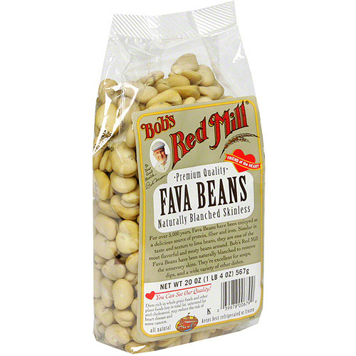 Bob's Red Mill Fava Beans, 20 oz (Pack of 4)