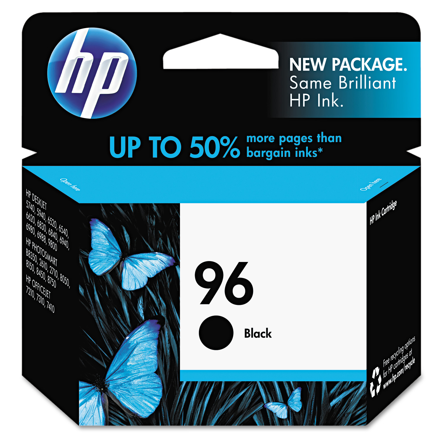 HP 96, (C8767WN) Black Original Ink Cartridge by HP