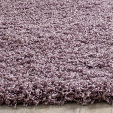 Safavieh Laguna Shag 8' X 10' Power Loomed Polypropylene Rug in Purple - image 8 de 10