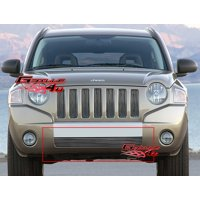 Compatible with 06-10 Jeep Compass Lower Bumper Billet Grille Insert J65539A