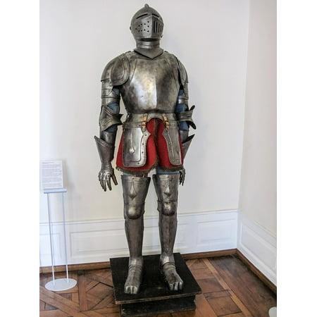 Canvas Print Ritterruestung Old Knight Armor Knight Historically Stretched Canvas 10 x 14 (Old Knight Armor)