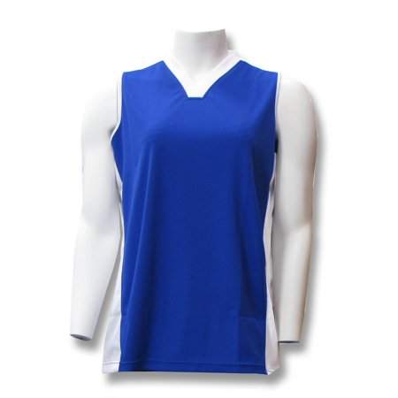 Milo girls' and women's sleeveless jersey for soccer, volleyball, softball and other sports