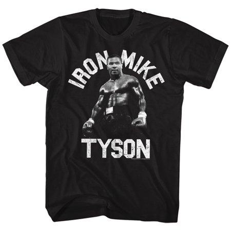 Iron Mike Tyson Iron Standing Boxing Champion American Classics Adult T Shirt