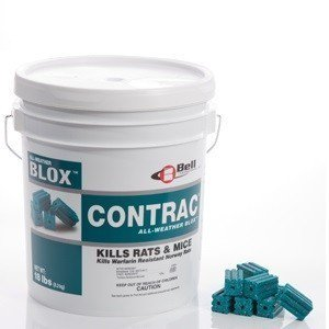 Bell Labs Rodent (Bell Contac Blox Rodent Bait Poison - 18 pounds )