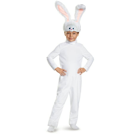 The Secret Life Of Pets - Snowball Classic Costume for Kids](Snow White Costume For Sale)