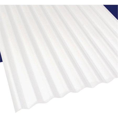 Sun N Rain 103693 Corrugated Roofing Panel 26 In W X 10