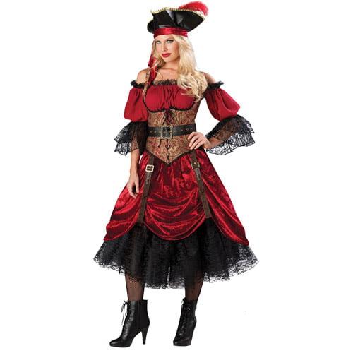 Swashbucklin Scarlet GB Adult Halloween Costume