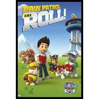 Paw Patrol Roll Poster Poster Print