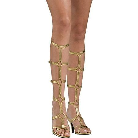 Adult Goddess Sandals Rubies 884014,
