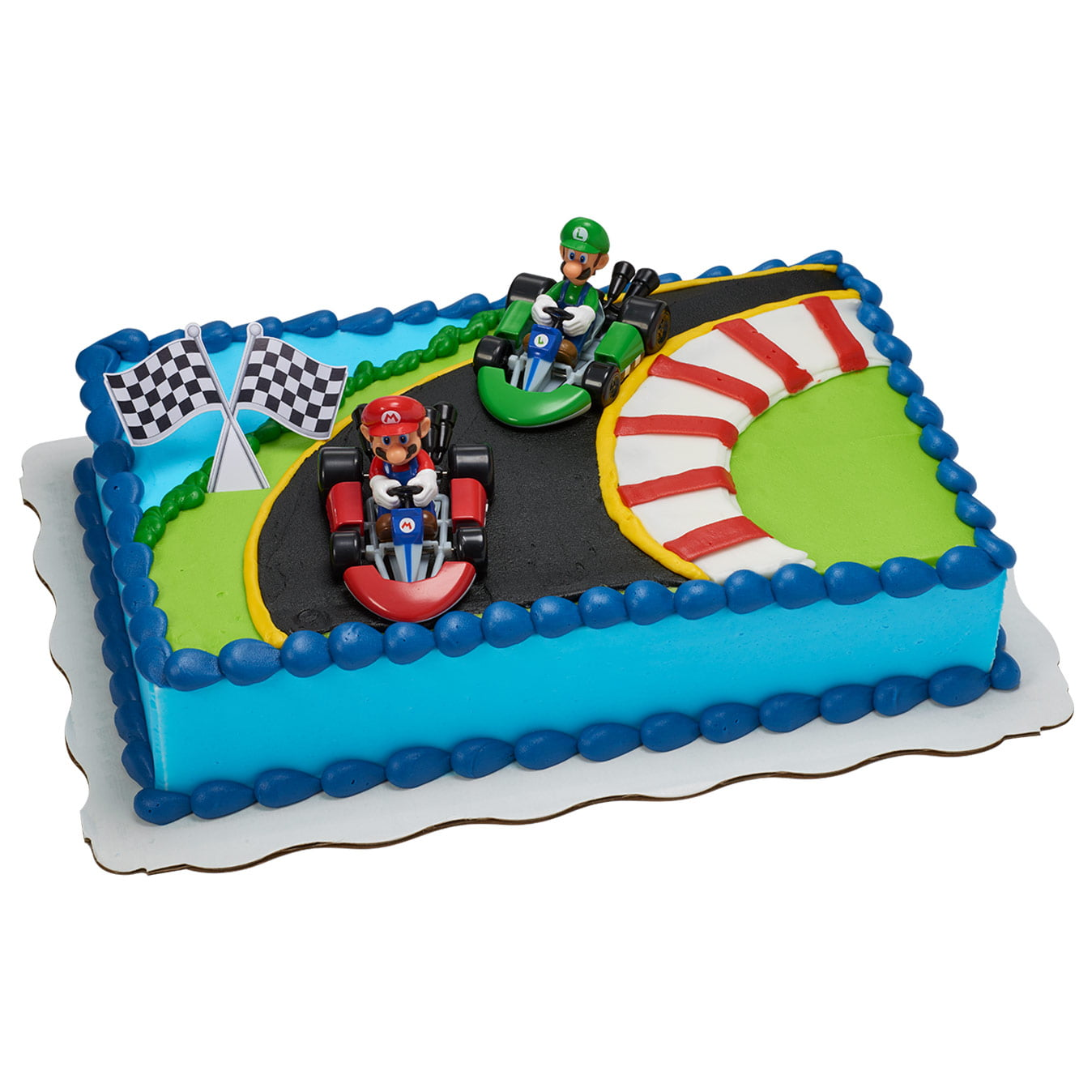 Enjoyable Super Mario Kart Kit Cake Walmart Com Walmart Com Birthday Cards Printable Opercafe Filternl