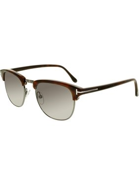 e6d17f91698 Product Image Men s Henry FT0248-52A-51 Brown Square Sunglasses. Tom Ford
