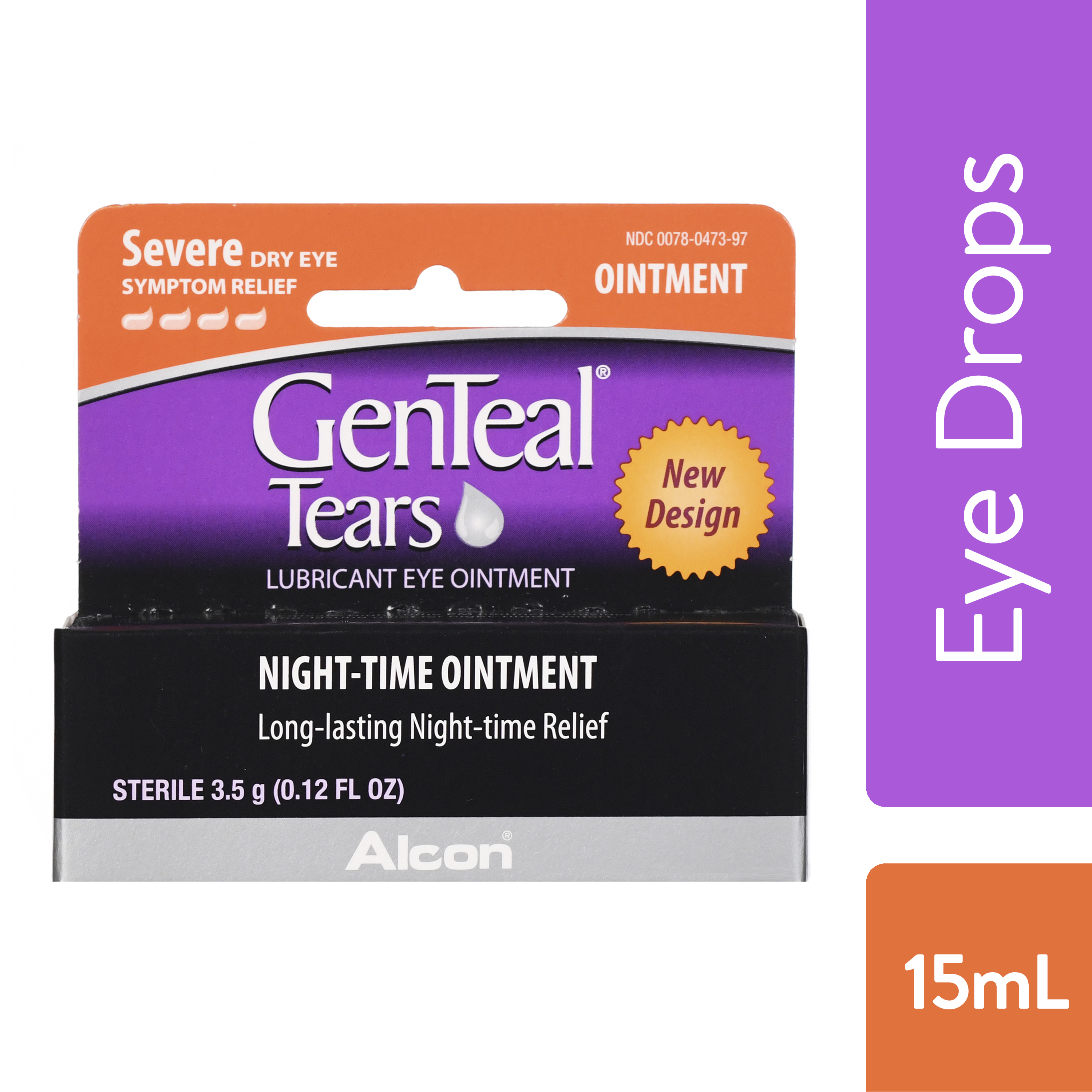 GENTEAL Tears Severe Eye Ointment for Severe Dry Eye Symptom Relief, 15ml