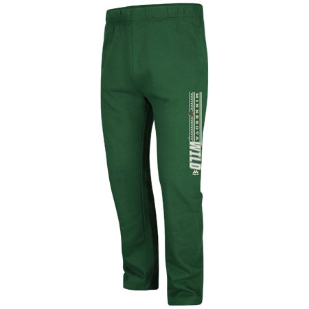 differently 6880f c00c7 Minnesota Wild Majestic Cross Bar Fleece Pants - Green