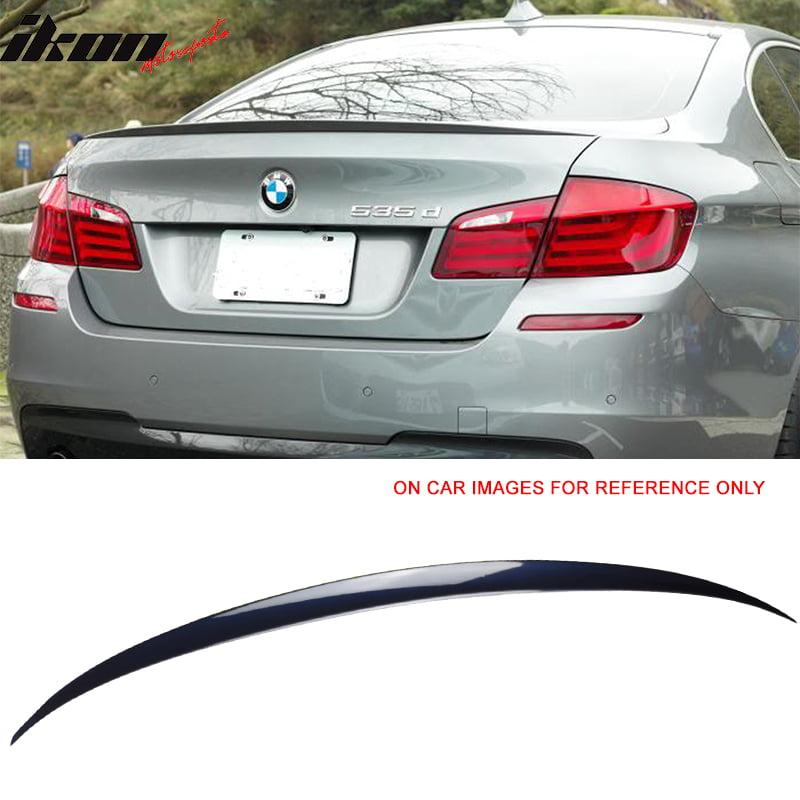 Unpainted BMW 5-Series F10 4D Sedan A Type Rear Roof M5 Trunk Spoiler COMBO
