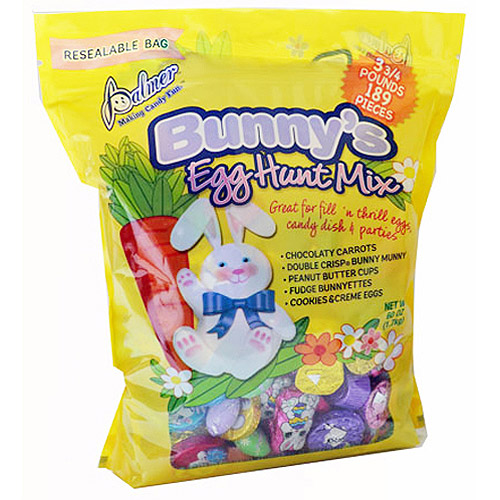 Palmer Easter Bunny's Egg Hunt Mix Assorted Chocolates, 189 count, 60 oz