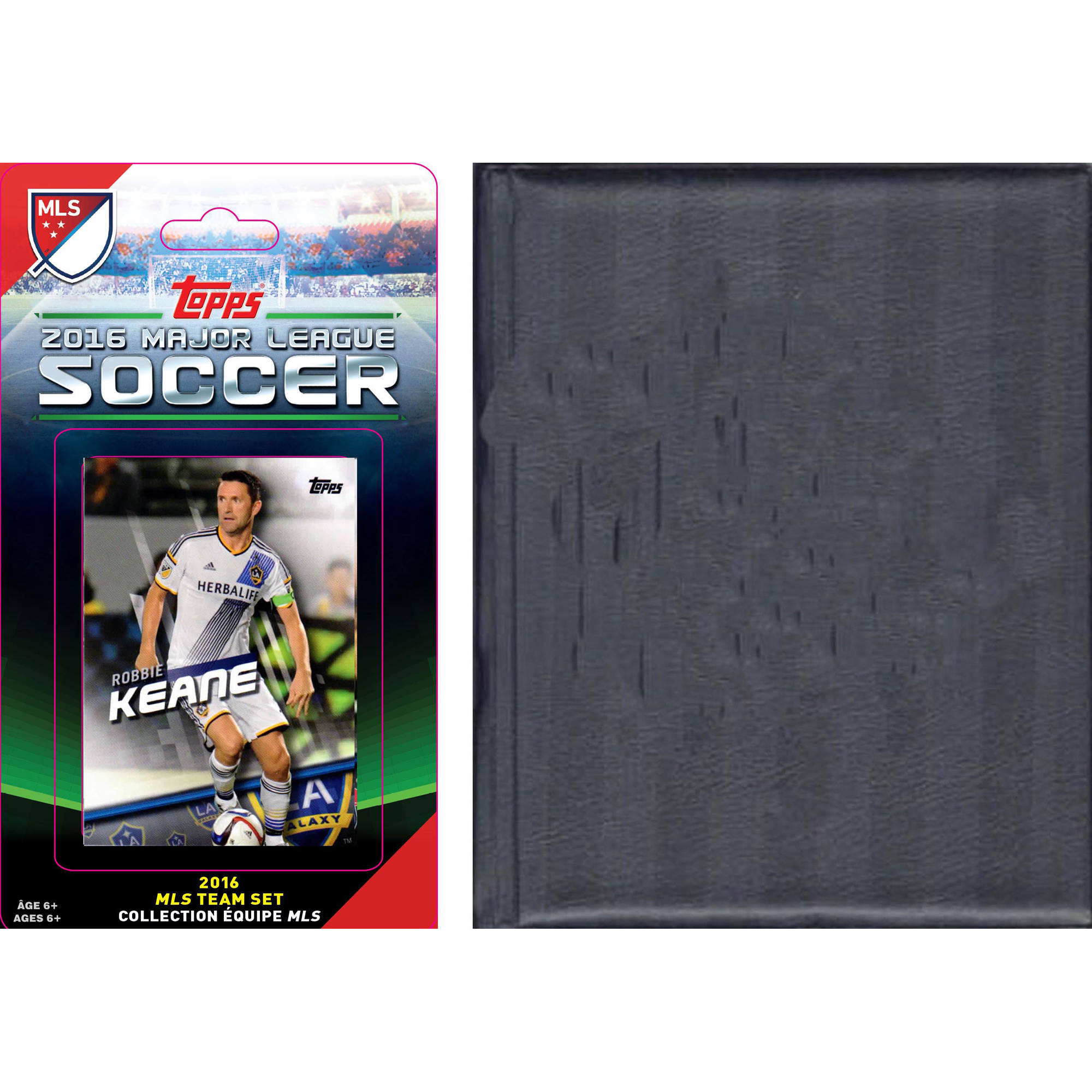 C&I Collectables MLS Los Angeles Galaxy Licensed 2016 Topps Team Set and Storage Album