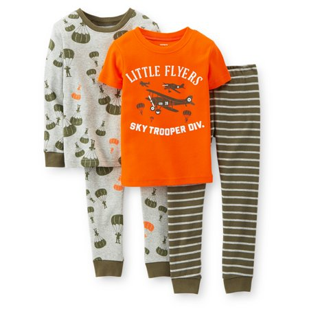 30b46013d783 Carter s - Carters Baby Clothing Outfit Boys 4-Piece Snug-Fit Cotton ...
