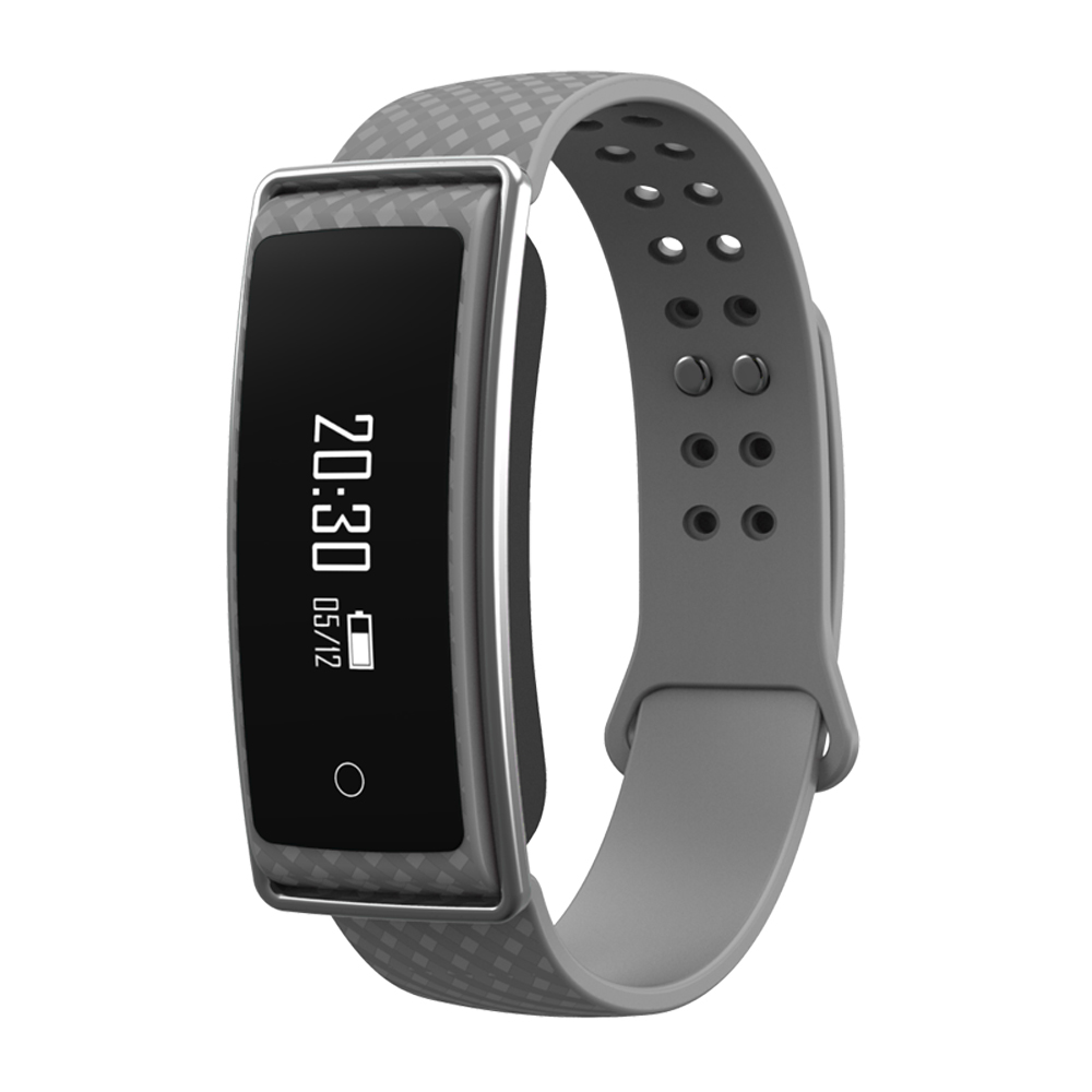 TechComm GX5 Fitness Activity Tracker with Heart Rate Monitor, Call and Text Notifications
