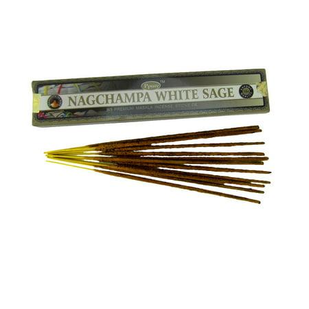 Smoke White Sage (Dipped White Sage Indian Incense Reiki Smoke Negativity Remover )