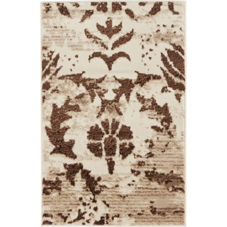 Transitional Keystone Collection Area Rug in Cocoa and Rectangle, Round, Runner, Square Shape