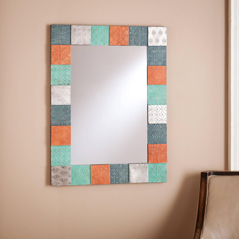 Southern Enterprises Georgia Eclectic Decorative Mirror, Multicolor