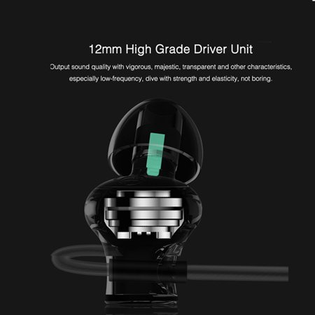 3.5mm In-ear Magnetic Adsorption Earphone Bass Stereo Noise Isolating Headphone With Mic for Smartphones Computers - image 8 de 10