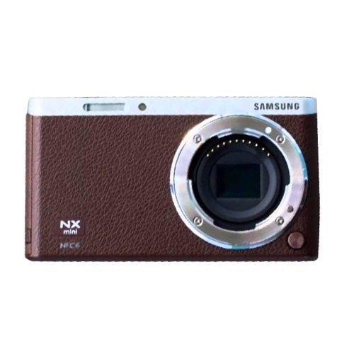 Samsung NX Mini Mirrorless Digital Camera (Brown Body Onl...