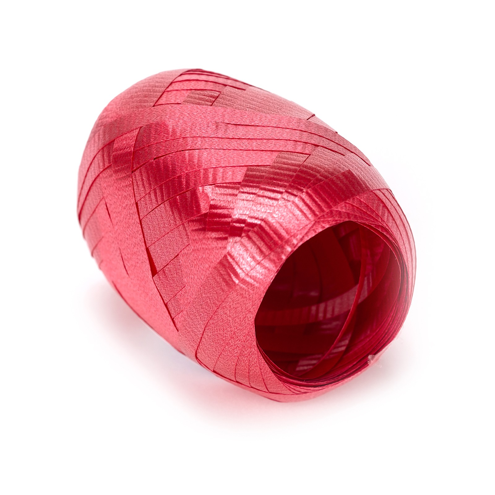 Berwick Team Spirit Solid School Color 66' Curling Ribbon, Red