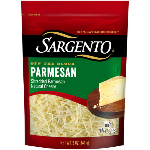 Sargento Artisan Blends Parmesan Shredded Cheese, 5 oz