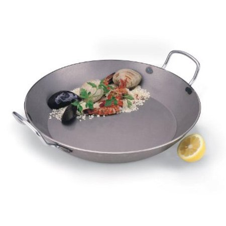 - World Cuisine 12 1/2 Inch Carbon Steel Paella Pan