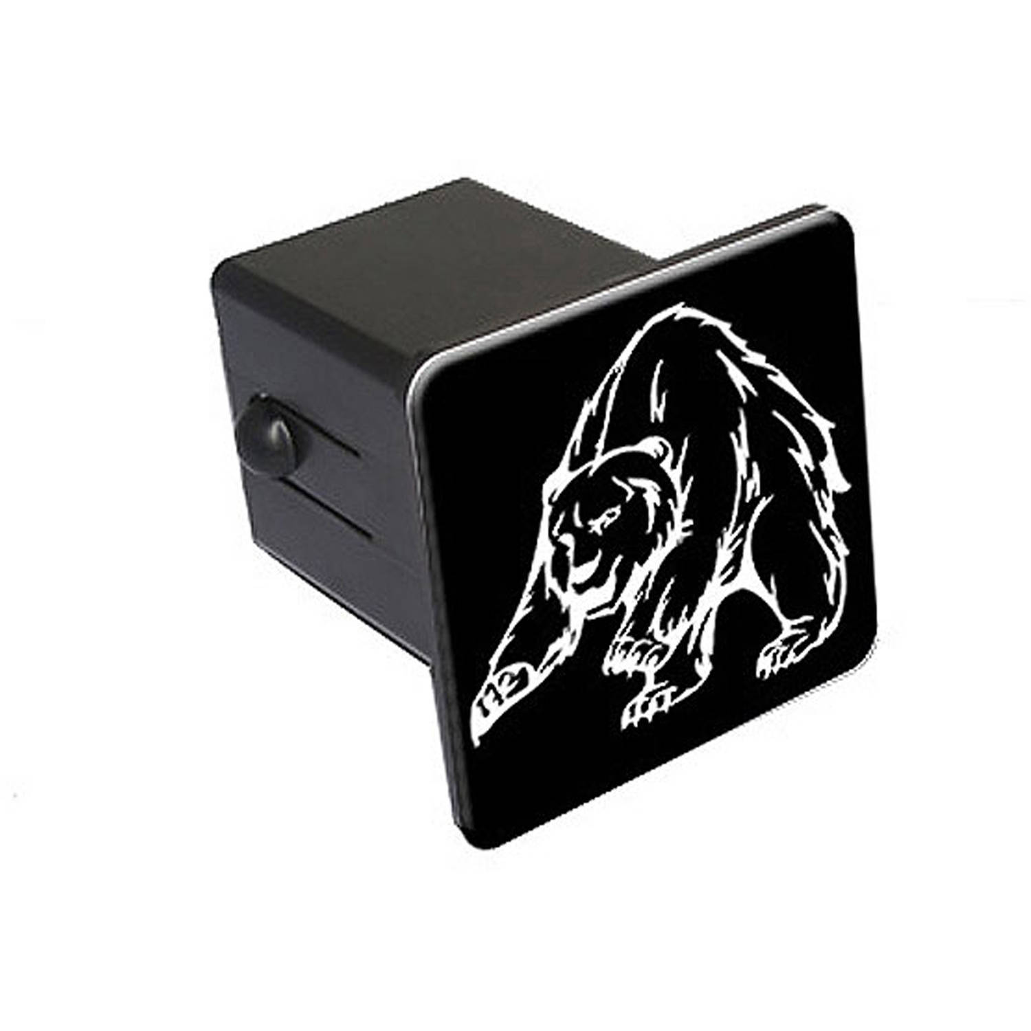 """Grizzly Bear 2"""" Tow Trailer Hitch Cover Plug Insert"""