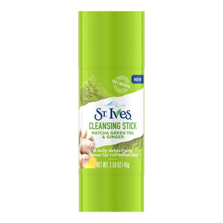 St. Ives Detox Me Daily Cleansing Stick Matcha Green Tea & Ginger 1.6
