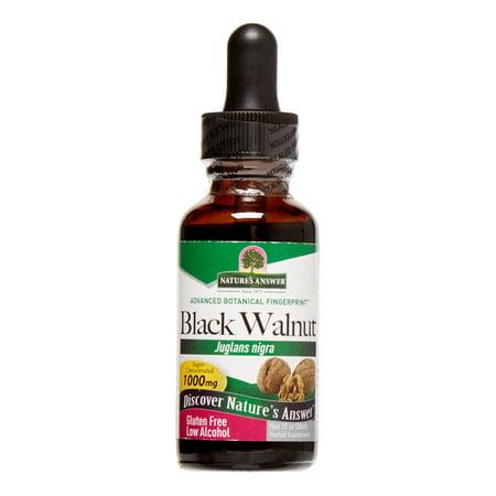 Nature's Answer Black Walnut, 1 - Natures Answer Black Walnut Hulls