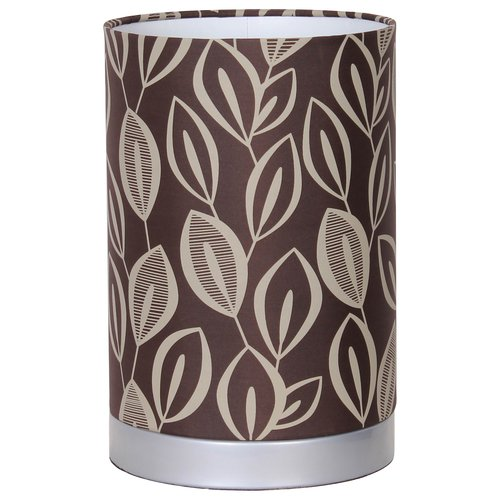 Mainstays Leaf Fabric Uplight Lamp